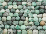 Tree Agate Nugget Cube Gemstone Beads 3-7mm (GS3716)