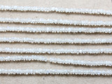 Moonstone Faceted Rondelle Gemstone Beads 3-4mm (GS3736)