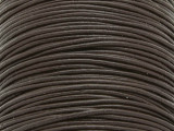"Dark Brown Leather Cord 1.5mm - 36"" (LR70)"