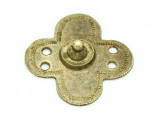 Old Brass Medallion 38mm - Ethiopia (ME426)