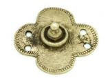 Old Brass Medallion 41mm - Ethiopia (ME428)