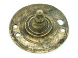 Old Brass Medallion 46mm - Ethiopia (ME429)