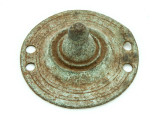 Old Brass Medallion 42mm - Ethiopia (ME430)