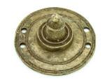 Old Brass Medallion 43mm - Ethiopia (ME432)