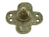 Old Brass Medallion 44mm - Ethiopia (ME434)