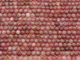 Lepidolite Round Gemstone Beads 3-4mm (GS3748)