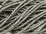 Iron Pyrite Heishi Gemstone Beads 3mm (GS3781)