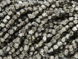 Iron Pyrite Faceted Nugget Gemstone Beads 4-5mm (GS3785)