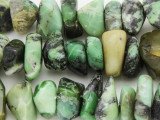 Chrysoprase Nugget Gemstone Beads 10-25mm (GS3814)
