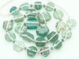 Ancient Afghan Graduated Roman Glass Beads (AF1442)