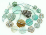 Ancient Afghan Graduated Roman Glass Beads (AF1484)