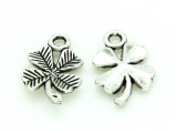 Four Leaf Clover - Pewter Charm 15mm (PW1159)