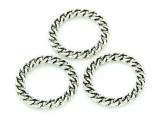 Pewter Chain Ring 21mm (PB703)