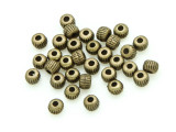 Brass Pewter Bead - Round 3mm (PB781)