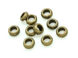 Brass Pewter Bead - Ring 6mm (PB791)