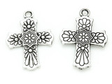 Cross - Pewter Pendant 28mm (PW785)