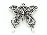 Butterfly - Pewter Pendant 27mm (PW839)