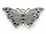 Butterfly - Pewter Pendant 68mm (PW849)