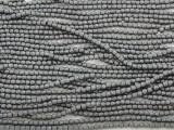 Silver Hematite Faceted Barrel Gemstone Beads 1-2mm (GS3830)
