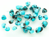 Turquoise Triangular Teardrop Beads 8mm (TUR1194)