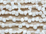 Ivory End-Drilled Nugget Pearl Beads 5mm (PRL182)