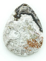 Laguna Lace Agate Teardrop Gemstone Pendant 47mm (GSP1376)