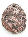 Leopardskin Jasper Gemstone Pendant 44mm (GSP1396)