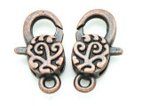 Copper Pewter Clasp - Lobster 30mm (PB798)