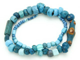 Ancient Glass Beads - Afghanistan (RF764)