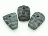Mayan Carved Stone Pendant 18-25mm (GUA487)
