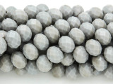 Gray Crystal Glass Beads 10mm (CRY252)