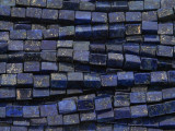 Lapis Lazuli Block Gemstone Beads 6mm (GS4010)