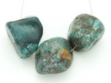 Large Turquoise Focal Beads 22-33mm (TUR1210)