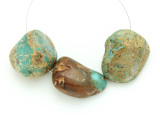 Large Turquoise Focal Beads 22-38mm (TUR1234)