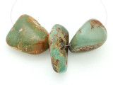 Large Turquoise Focal Beads 13-44mm (TUR1240)