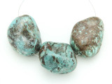 Large Turquoise Focal Beads 13-33mm (TUR1242)