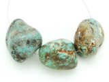 Large Turquoise Focal Beads 22-34mm (TUR1245)