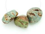 Large Turquoise Focal Beads 18-34mm (TUR1246)