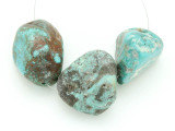Large Turquoise Focal Beads 22-36mm (TUR1251)
