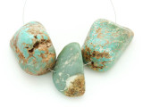 Large Turquoise Focal Beads 18-33mm (TUR1252)