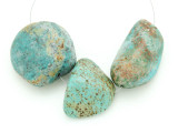Large Turquoise Focal Beads 17-44mm (TUR1264)
