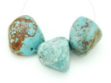 Large Turquoise Focal Beads 18-34mm (TUR1265)