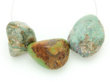 Large Turquoise Focal Beads 17-35mm (TUR1282)