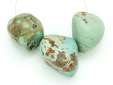 Large Turquoise Focal Beads 19-39mm (TUR1284)