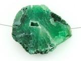 Green Druzy Agate Pendant 36mm (GSP1447)