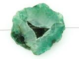 Green Druzy Agate Pendant 43mm (GSP1469)