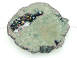 Electroplated Druzy Agate Pendant 54mm (GSP1572)