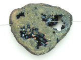 Electroplated Druzy Agate Pendant 47mm (GSP1613)