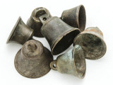 Tarnished Metal Bell - Clapperless 26-32mm - Ethiopia (ME441)