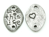 Love This Life - Pewter Pendant 34mm (PW859)